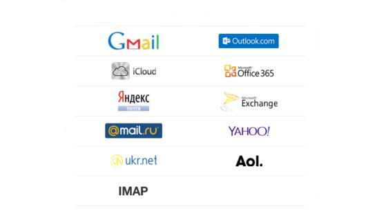 Виды почтовых ящиков интернета