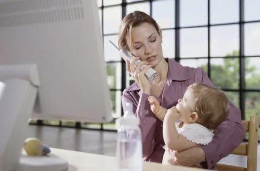 Плюсы и минусы работы для мам в декрете