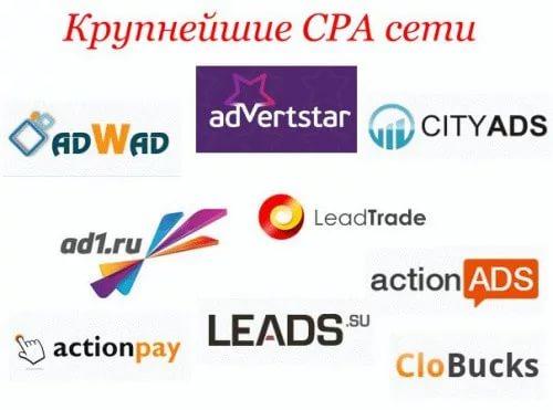 Популярные рекламные CPA-сети